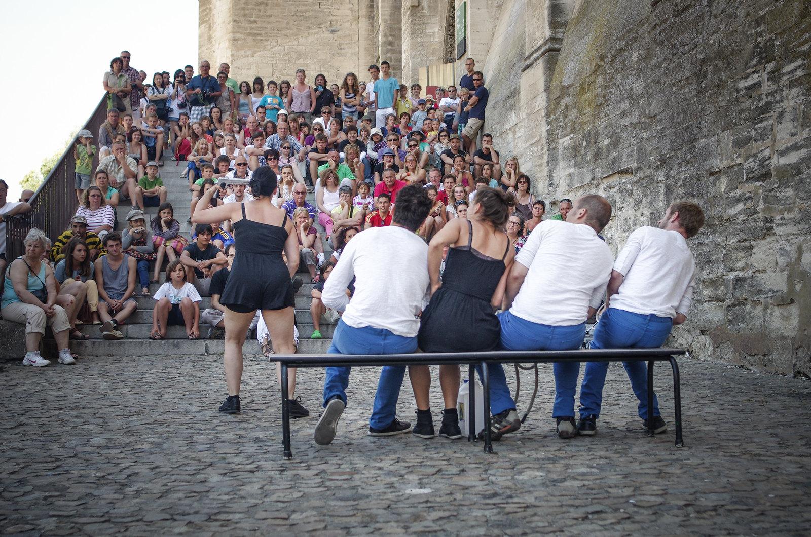 Festival d'Avignon - Place du palais des papes