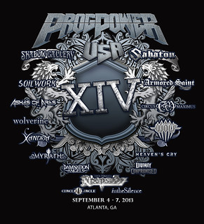 ProgPower USA XIV Tshirt Design
