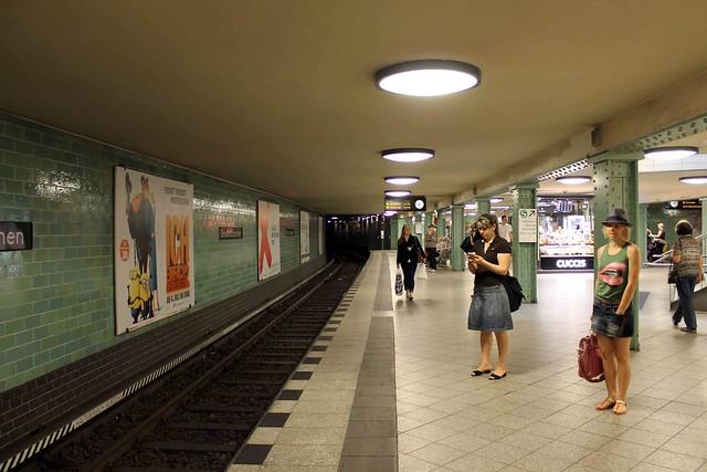 Берлинское метро в Веддинге U-8