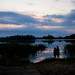Sunset on our first night over Big Muskellunge Lake 3 by ktgeek