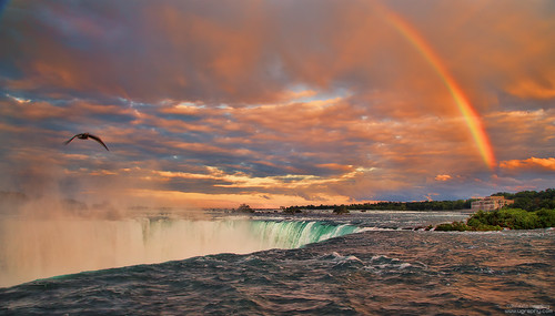 park sunset summer ontario canada clouds river landscape lights rainbow outdoor north niagara falls goldenhour waterscape lonngexposure