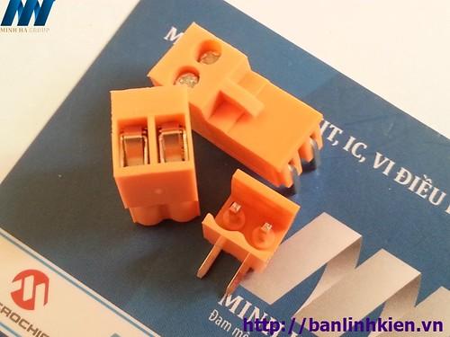 CON 2 HT3.96-2P 3.96MM ( Cam Cong)