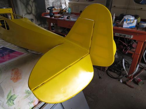 Repaginação de um Piper J-3 para um Neiva P56 C Paulistinha  9477448935_12c9982394
