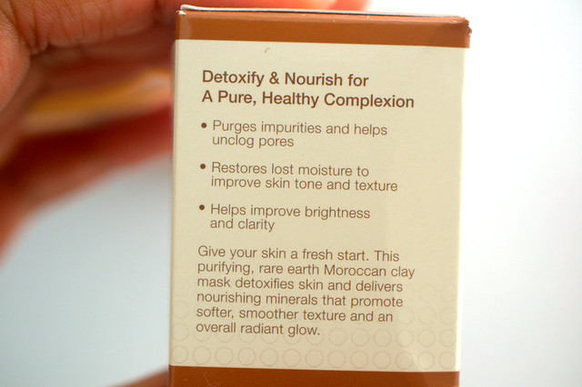 Rx for brown skin mask packaging