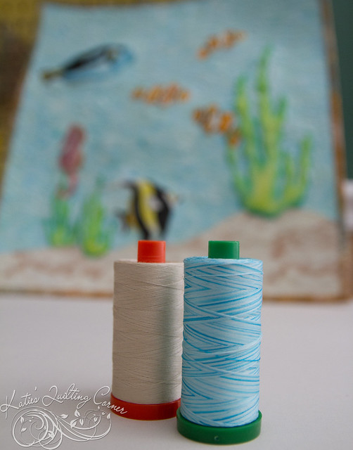 Aurifil - Melt and Blend Tropical Fish