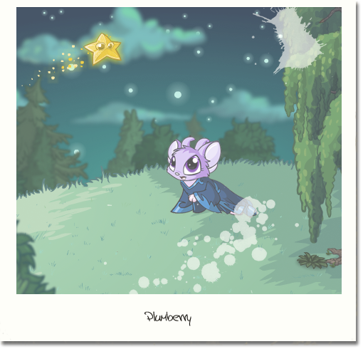 plum stargazing