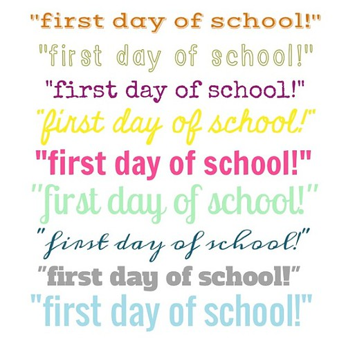 can i get an amen, a high five, and maybe a delicious celebratory treat from starbucks? #firstdayofschool #thankbabyjesus #ahhhhyeah #starbucks