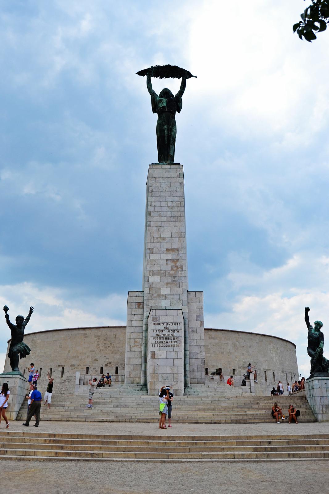 Citadella Budapest monumento