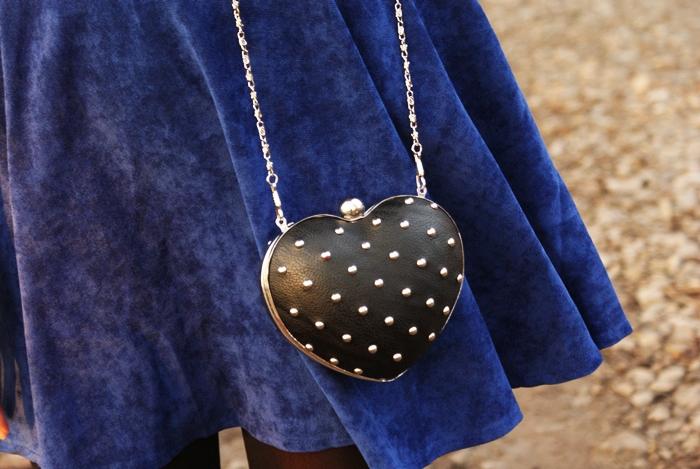 torebka w kształcie serca