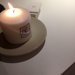 the recollection store candle logo