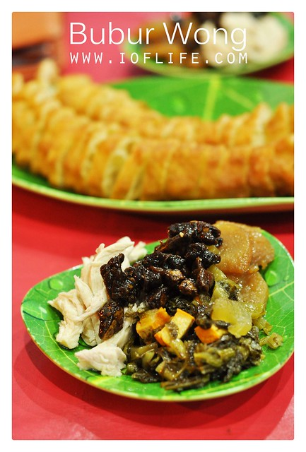 side dish bubur wong