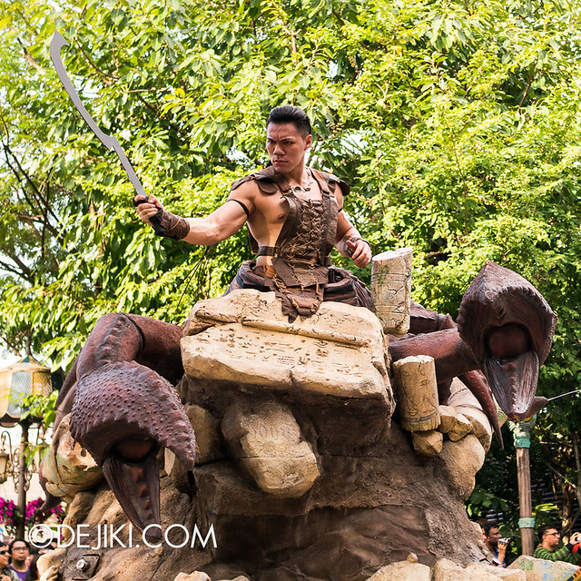 Universal Studios Singapore - Hollywood Dreams Parade - Ancient Egypt - Scorpion King