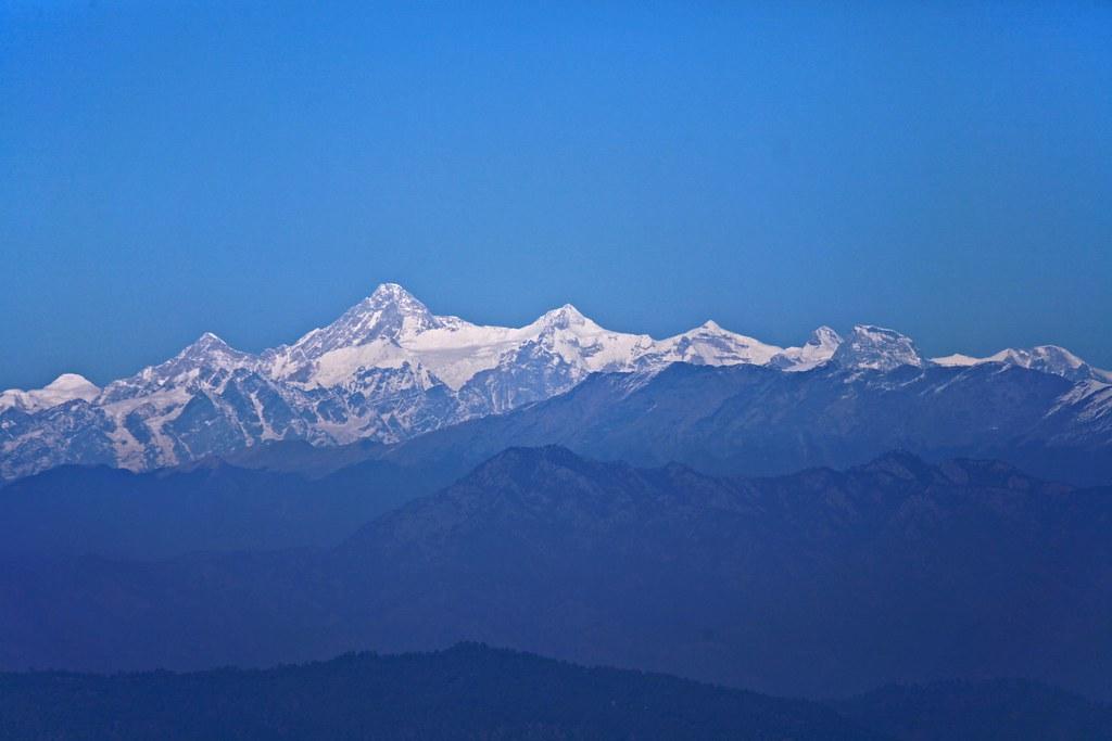 Kamet from Nainital