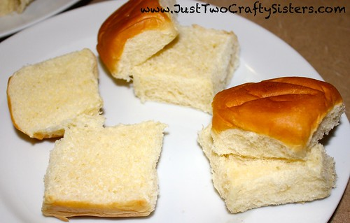 Using hawaiian rolls for slider buns