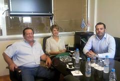 Επίσκεψη Όλγας Γεροβασίλη στον Πτηνοτροφικό Συνεταιρισμό Άρτας