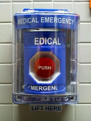 "Wheelock ""Medical Emergency"" push station"