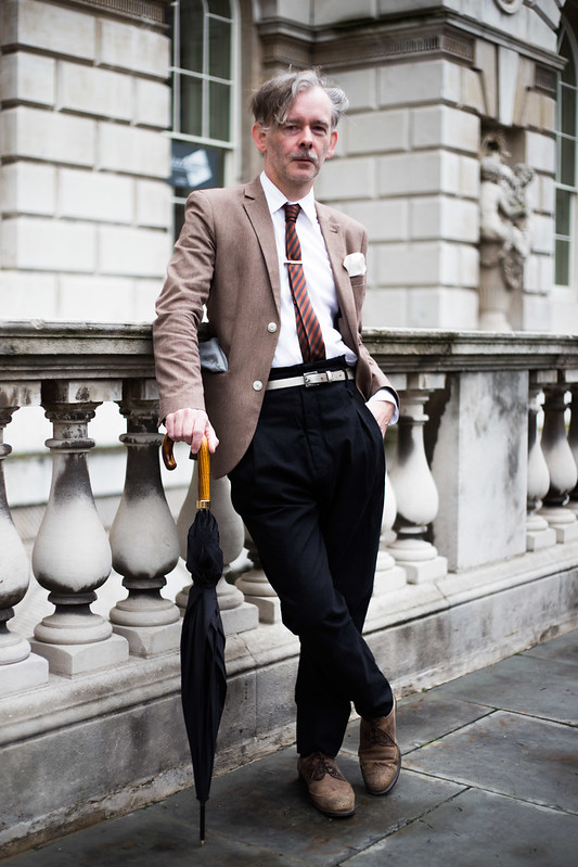 Street Style - Robert J Railton, London Fashion Week