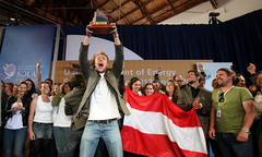 Team Austria Celebrates First Place in Solar Decathlon