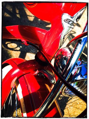 Red Bike, Paris by Paris Set Me Free