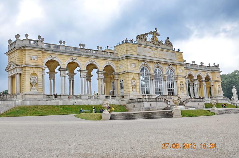 The Schönbrunn Palace Garden Gloriette, Vienna, Austria