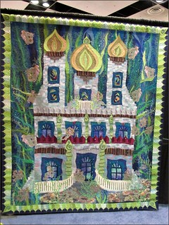 Magical Mermaid's Castle quilt