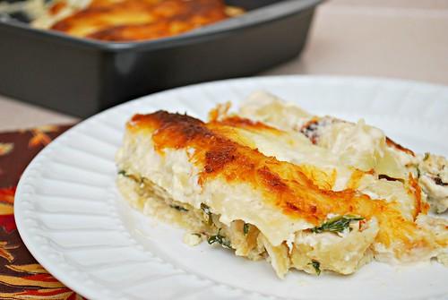 Chicken Florentine Cannelloni