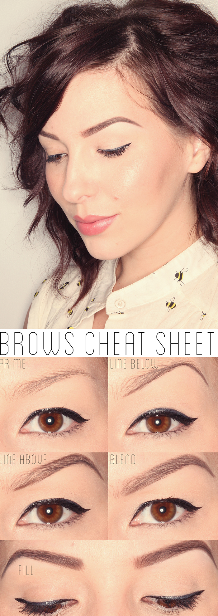 Keiko Lynn: Makeup Monday: How To Get The Perfect Brows