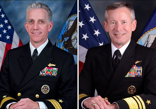 Rear Adm. Bruce Loveless and Vice Adm. Ted Branch are top intelligence officers implicated in a major scandal. by Pan-African News Wire File Photos