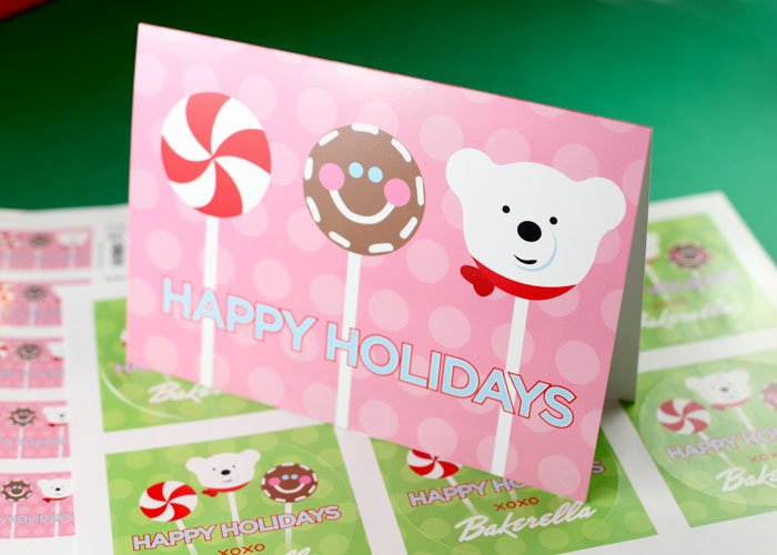 Cake Pops Cards
