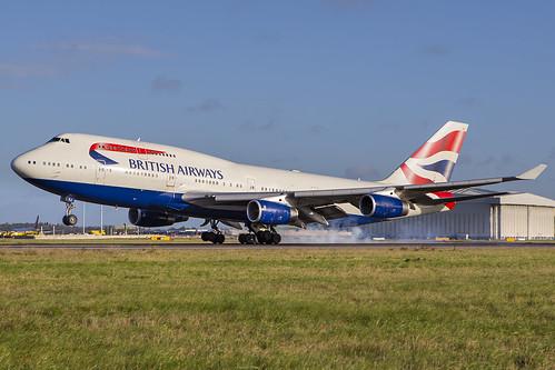 G-CIVJ British Airways Boeing 747 London Heathrow