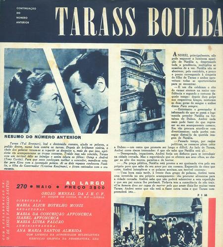 Ao Largo, Nº 270, Maio 1964 - contra-capa