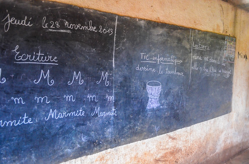 africa bamoun bicycle blackboard cameroon cameroun day392 insolite nkoutoulanden school freewheelycom cycling vélo cycletouring cyclotourisme velo jbcyclingafrica