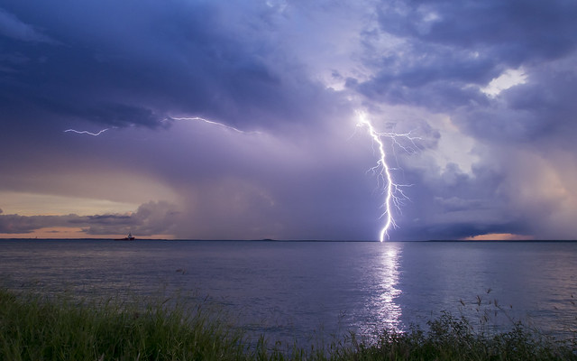 Darwin Harbour Lightning