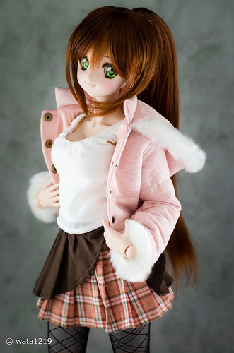 [DDS] Mayu : Pink down jacket (3)