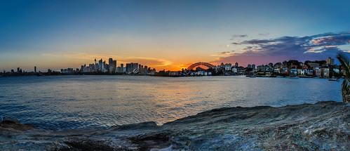 sydney australia newsouthwales mcmahonspoint hdrphotography canon5dmkiii sunsetcremornepoint