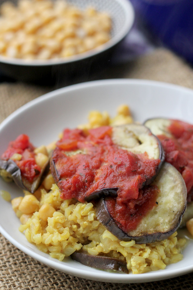 related recipes eggplant mozzarella and saffron rice bake curried ...