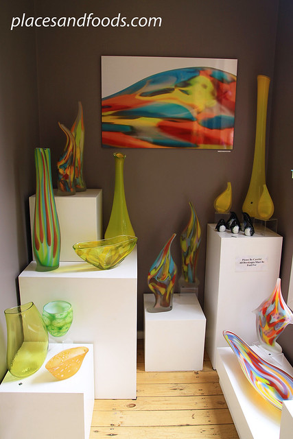 gordon studio glass blowers gallery interior