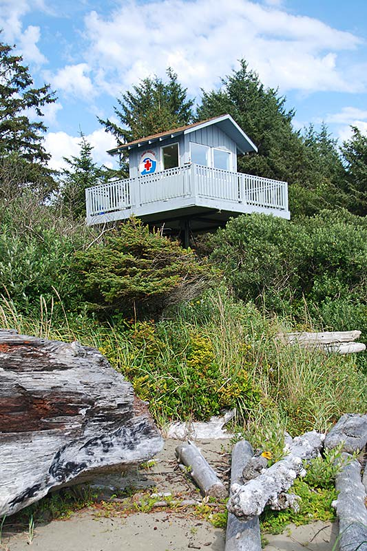 Long Beach Surf Rescue Station, Tofino, West Coast Vancouver Island, British Columbia