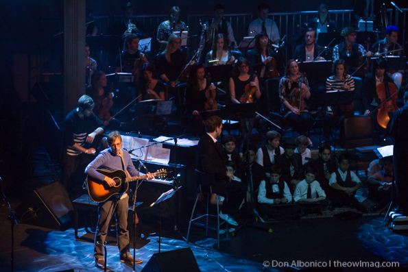 John Vanderslice with Magik*Magik Orchestra @ Fox Theater, Oakland 1/31/14