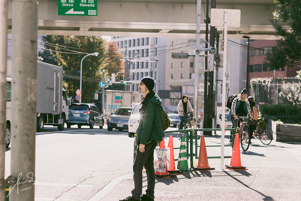 Contemporary Tokyo Gent