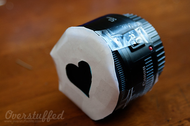 How to make heart bokeh