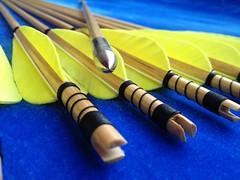 cheap wooden arrows (3)
