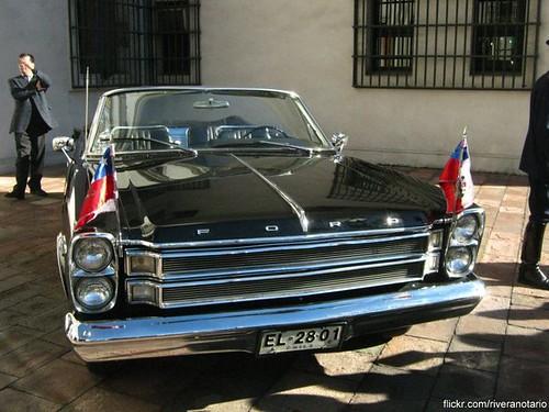 Ford Galaxie Presidencial Chile - Día del Patrimonio 2010