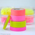 Neon washi tape