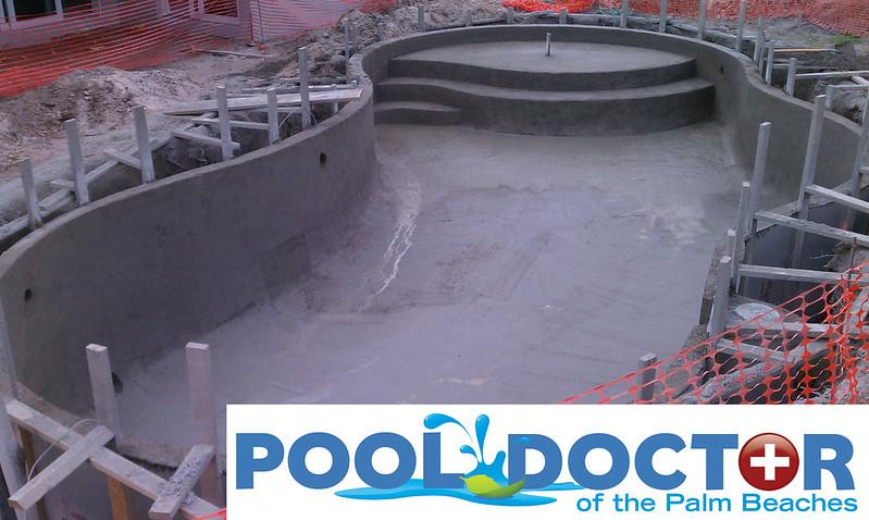New In Ground Swimming Pool Travertine