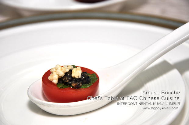 Chef's Table with Chef Sam Leong at TAO Intercontinental Kuala Lumpur 1