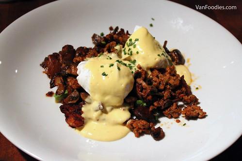 Chorizo + Mushroom Hash