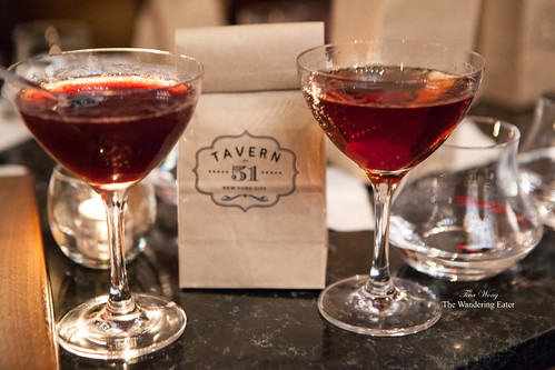 Honey Bramble (left) and Rare Manhattan (right)