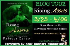 TOUR BUTTON - RISING ASSETS Book Blast