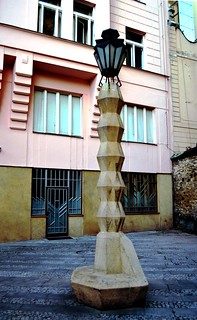 Cubist Lamp-Post